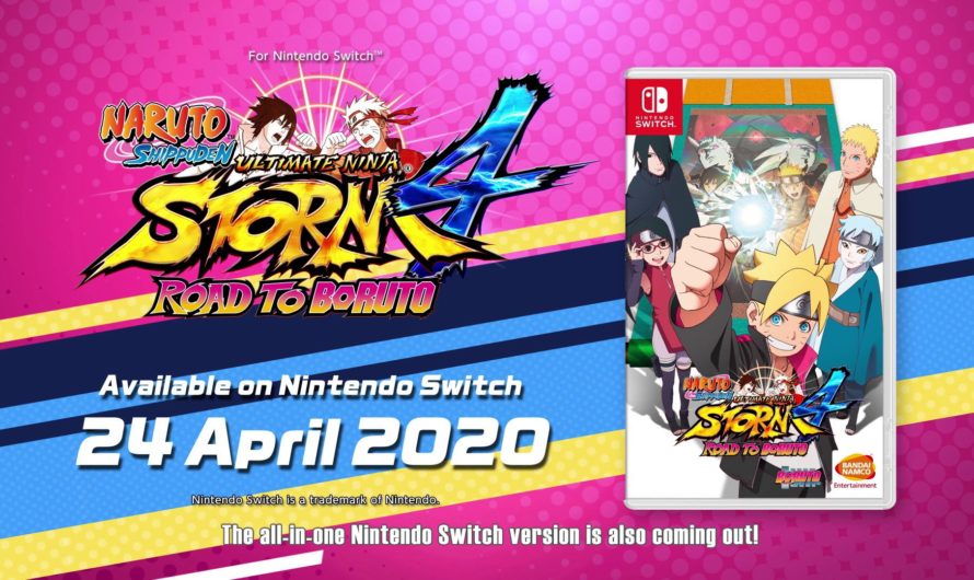 NARUTO SHIPPUDEN: Ultimate Ninja STORM 4 – ROAD TO BORUTO llegará a Nintendo Switch en abril del 2020