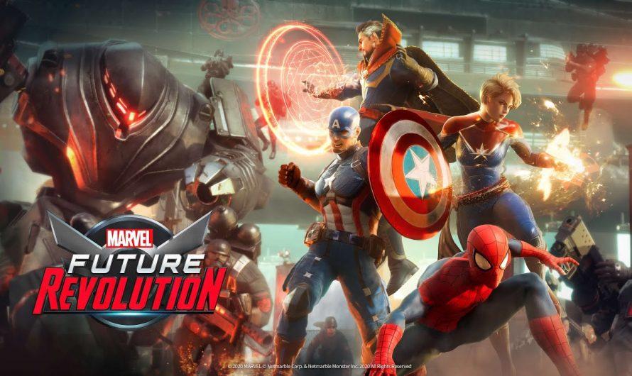 Marvel Future Revolution: el nuevo juego RPG de mundo abierto para dispositivos móviles