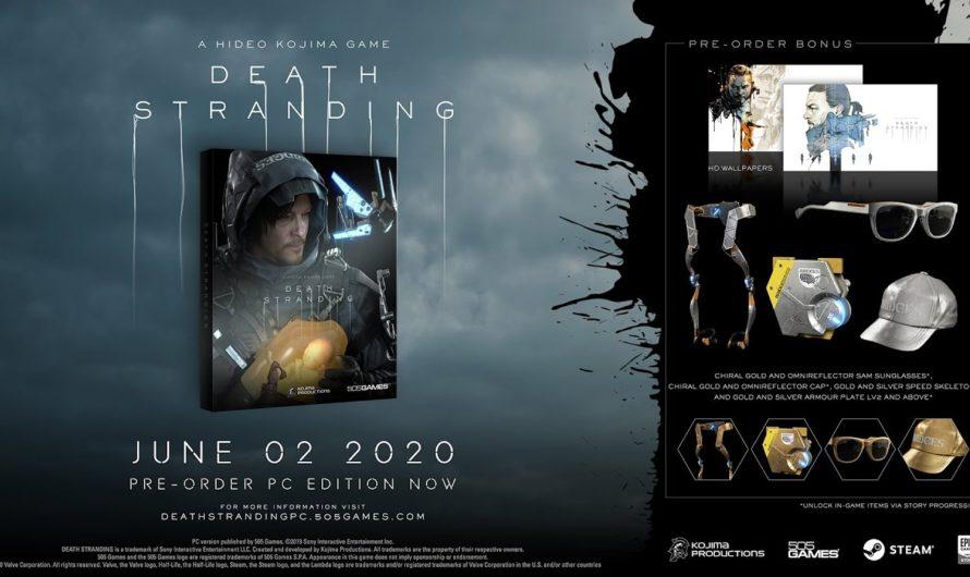 El lanzamiento de Death Stranding para PC se retrasa hasta julio