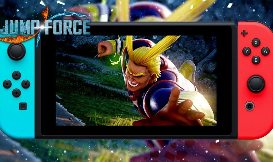 Jump Force Deluxe Edition llegará a Switch este año