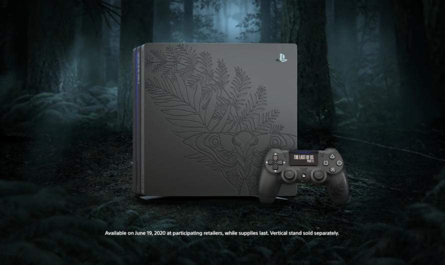 Sony revela PS4 Pro Edición especial de The Last of Us Parte 2