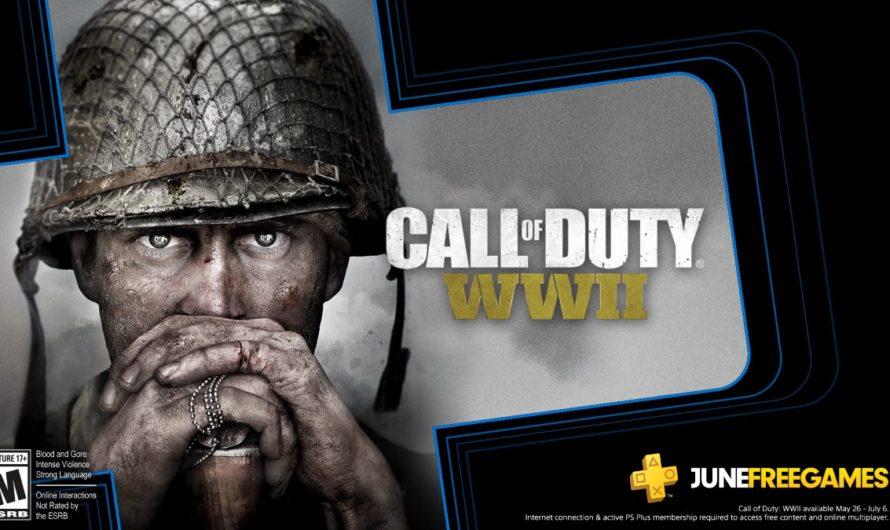Call of Duty WWII es uno de los juegos de PlayStation Plus de junio