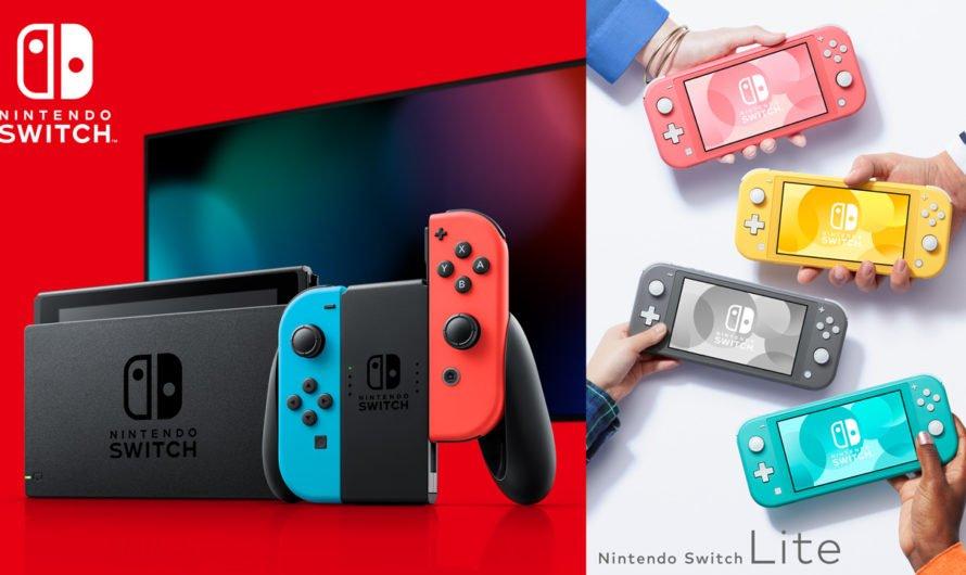Las ventas mundiales de Nintendo Switch superan los 55.77 millones de unidades