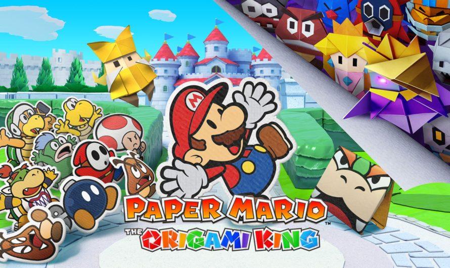 Paper Mario: The Origami King llegará en julio de este año