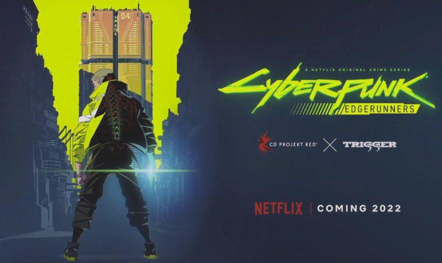 El anime Cyberpunk: Edgerunners llegará a Netflix en el 2022