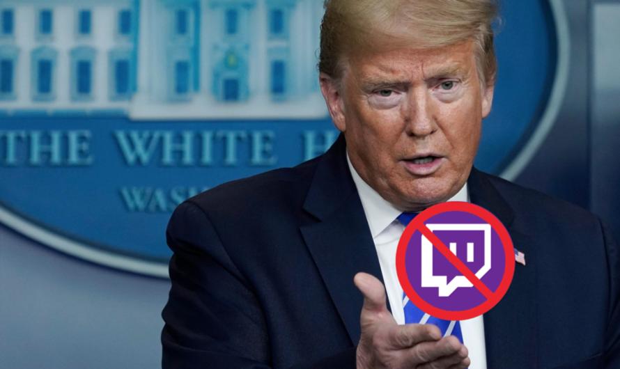 El canal oficial de Twitch de Donald Trump ha sido suspendido