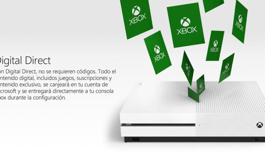"""Los paquetes de Xbox ya no vendrán con códigos digitales, ahora usarán """"Digital Direct"""""""