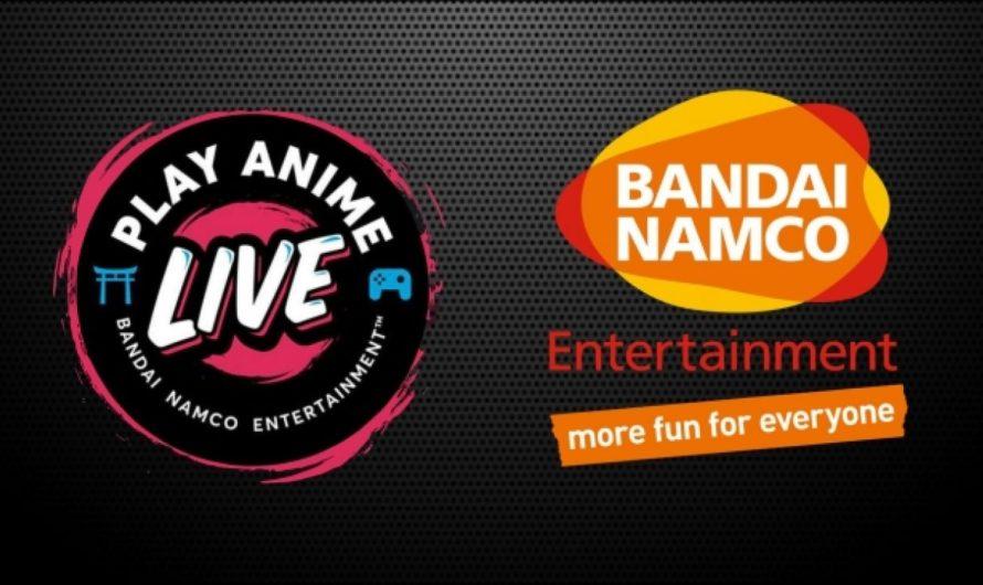 Bandai Namco anuncia el evento digital Play Anime Live para este 22 de julio