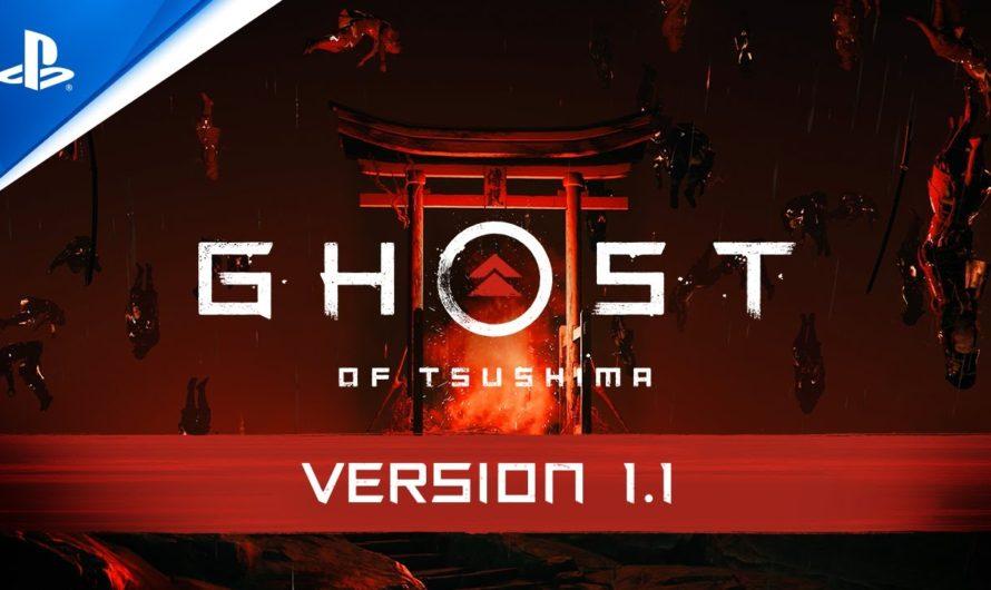 Ghost of Tsushima: Legends y New Game + disponible el 16 de octubre