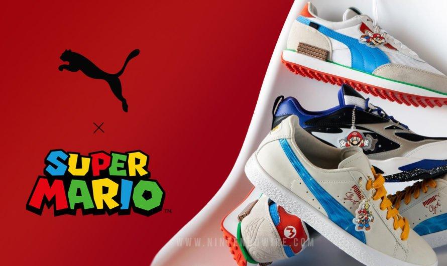 La colección de calzado Super Mario 3D All-Stars es anunciada por Nintendo y Puma