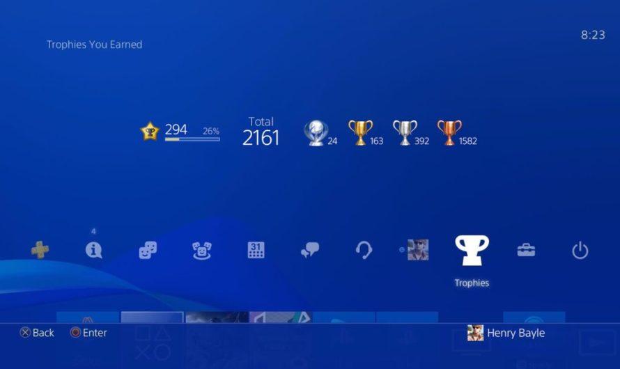 El sistema de trofeos de PlayStation está recibiendo una importante actualización
