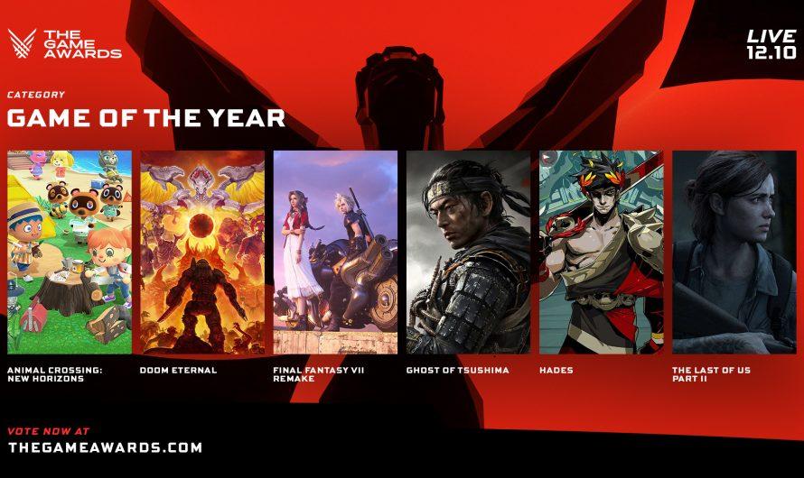 The Game Awards 2020 tendrá más de una docena de revelaciones de juegos