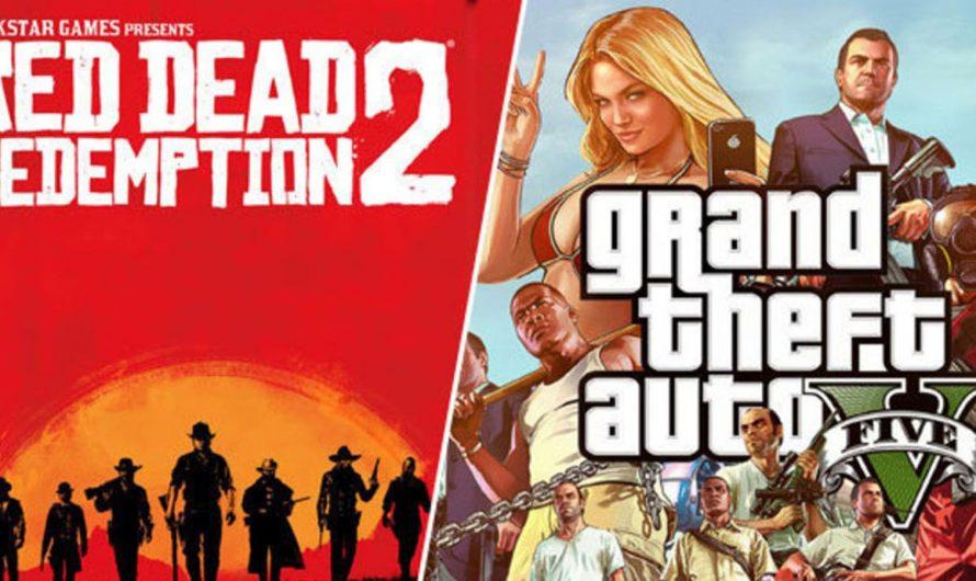 Las ventas de GTA V alcanzan los 135 millones de copias y las de RDR 2 los 34 millones de copias