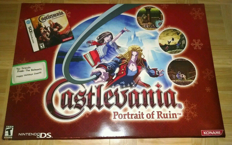¡Hace 14 años se lanzó Castlevania: Portrait of Ruin para Nintendo DS, de Konami!