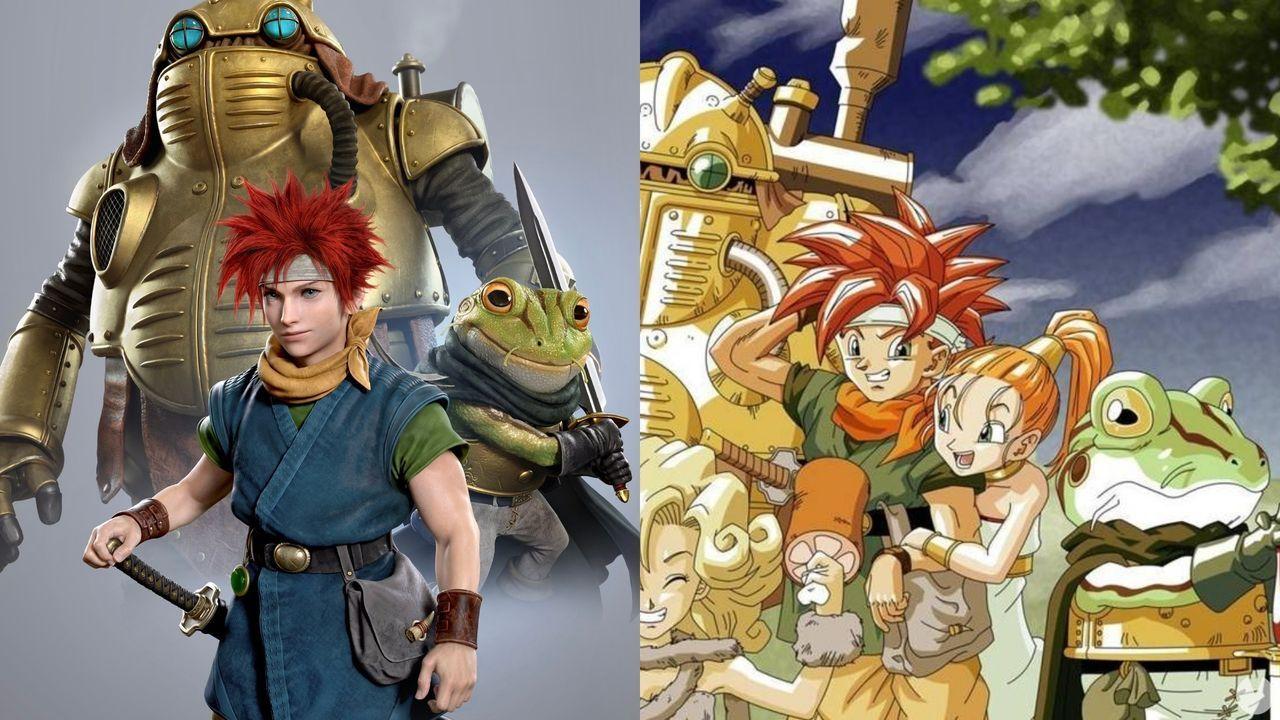 Los personajes de Chrono Trigger son reinventados por el director de arte de God of War