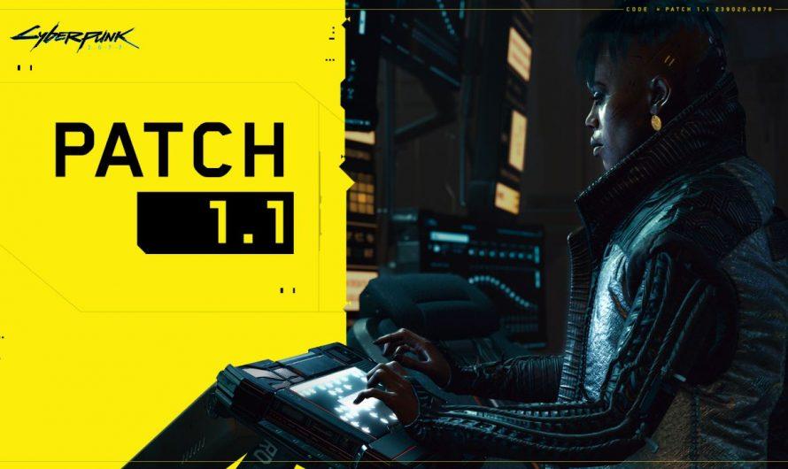 El parche 1.1 de Cyberpunk 2077 corrige muchos errores y mejora la estabilidad del juego