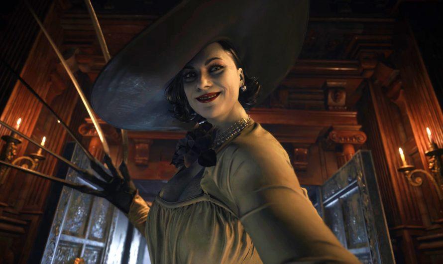 Lady Dimitrescu de Resident Evil Village mide oficialmente más de nueve pies de altura