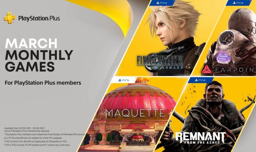 Estos son los juegos de PlayStation Plus de marzo 2021 y como ahorrar mucho en tu próxima membresía