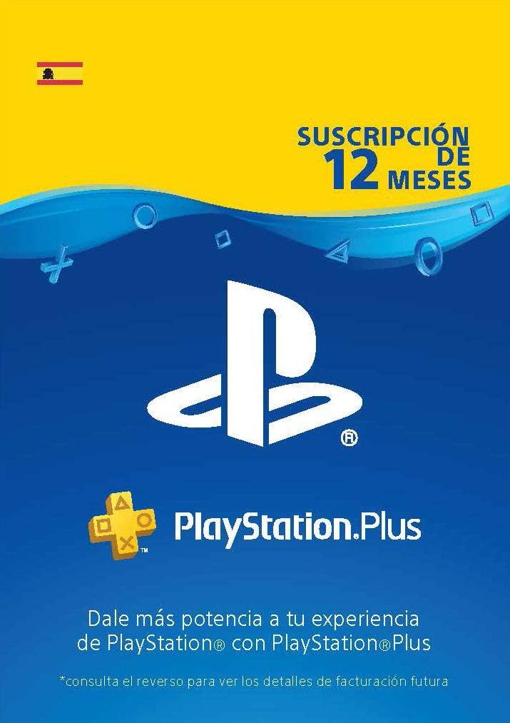 PS Plus 12 meses España