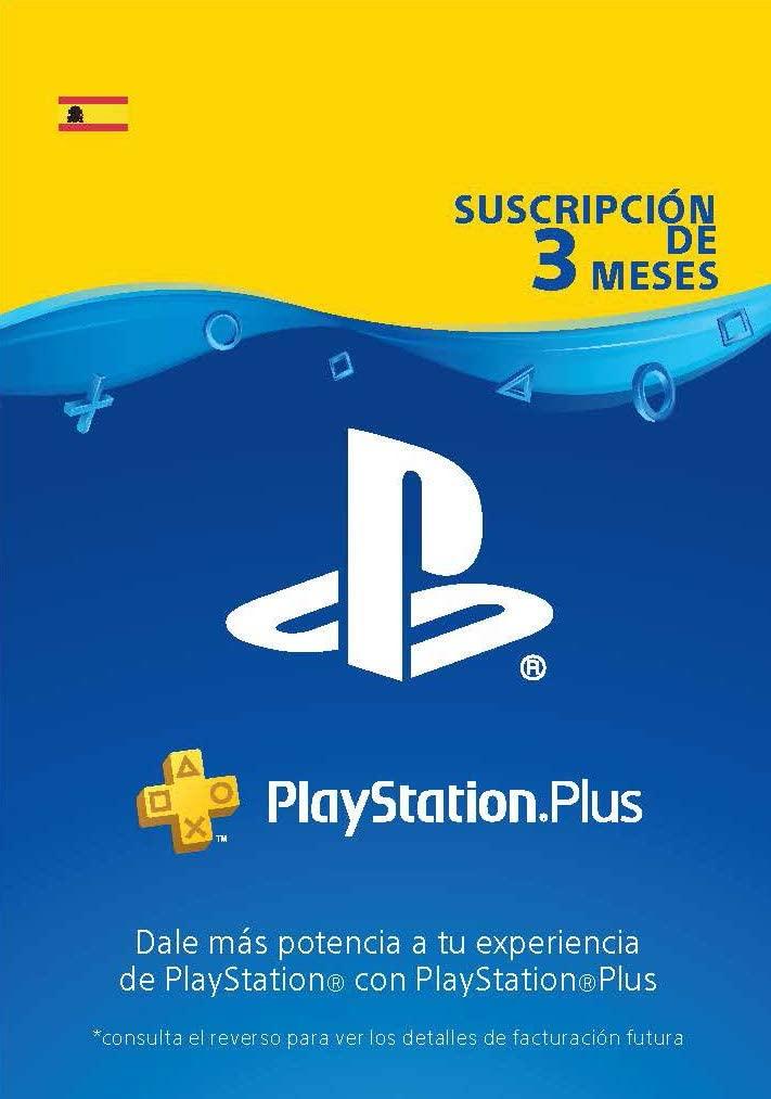 PS Plus 3 meses España